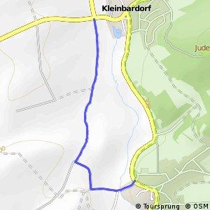 Sulzfeld Nordwest - Kleinbardorf West