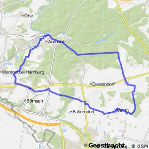 Tour 6, Radwander-Rundweg, Herzogtum Lauenburg