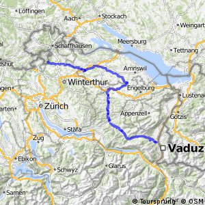 rcn 95 - Thur-Route (Andelfingen-Buchs (SG))
