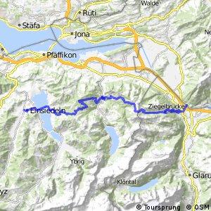 Panorama Bike - Etappe 05 (Niederurnen - Einsiedeln)