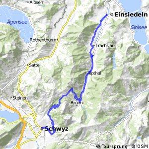 Panorama Bike - Etappe 06 (Einsiedeln - Schwyz)