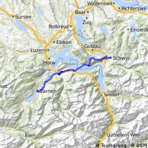 Panorama Bike - Etappe 07 (Schwyz - Sarnen)