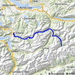rcn 83 Suworow Route (Schwyz-Elm)