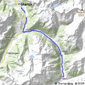 rcn 83 - Suworow Route Etappe 2 (Glarus-Elm)