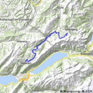 Panorama Bike - Etappe 09 (Sörenberg-Habkern)