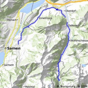 Unterwalden Route (Giswil-Engelberg)