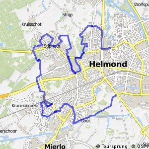 Rondje Helmond (west)