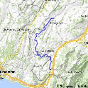 rcn 62 - Etappe 3 (Romont - Châtel-St-Denis )