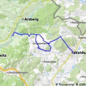 Wallenstein Radweg Spange (Mühlenradweg)