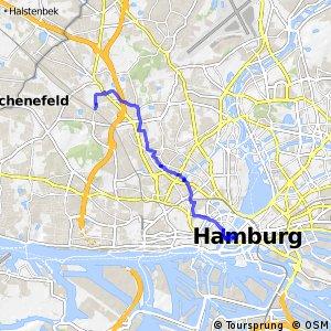 Hamburg Veloroute 2