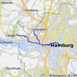Hamburg Veloroute 1