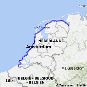 EuroVelo 12 - part Netherlands