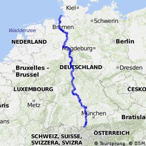 D9 Weser - Romantische Straße