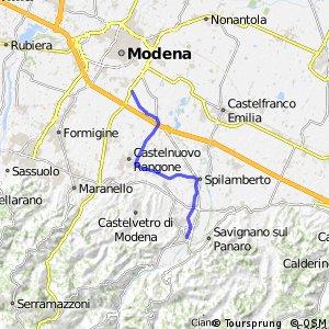 Ciclabile Modena - Vignola