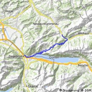 Panorama Bike - Etappe 04 (Stein SG - Niederurnen)
