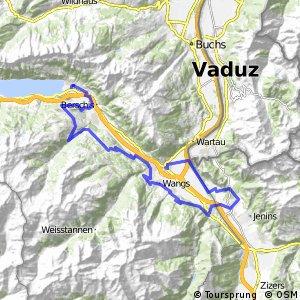 rcn 25MTB - Etappe 2 (Walenstadt - Sargans)