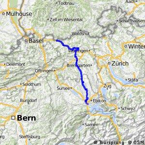 rcn 56 - Seetal–Bözberg (Luzern–Stein AG)