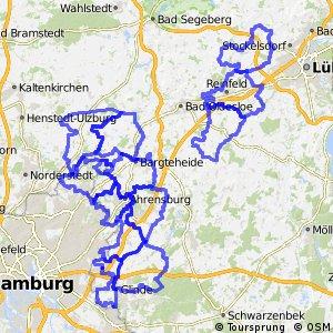 Radwander-Rundwege Kreis Stormarn