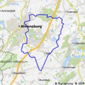 Tour 16, Radwander-Rundweg, Stormarn