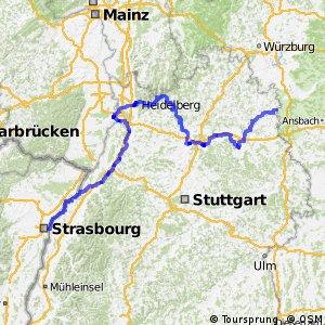 Paneuropa-Radweg Segment 2