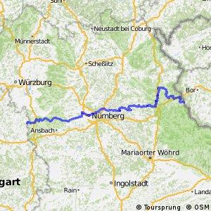 """Radweg """"Paneuropa-Radweg"""" Segment 3"""