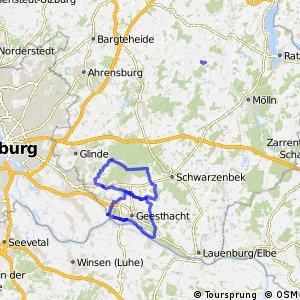 Radwander-Rundwege Kreis Herzogtum Lauenburg