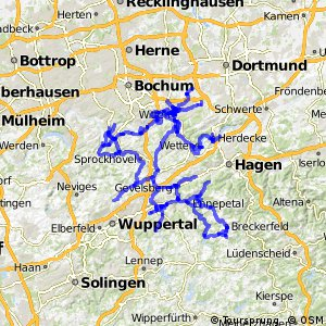 Radverkehrsnetz NRW, Ennepe-Ruhr-Kreis