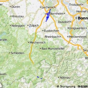 Radverkehrsnetz NRW, Kreis Euskirchen