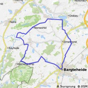 Tour 6, Radwander-Rundweg, Stormarn