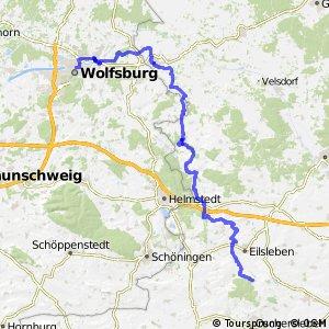 Aller-Radweg Wolfsburg-Eisleben