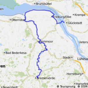 Deutsche Fährstraße (Fahrradroute) - Niedersachsen