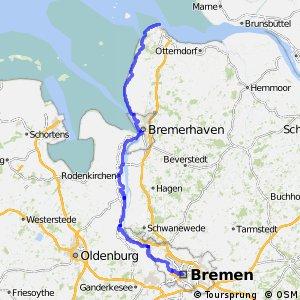 [D9] Weser-Romantische Straße [Niedersachsen: Cuxhaven - Bremen]
