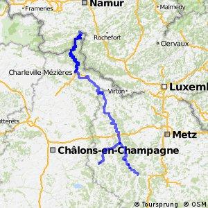 Véloroute de la Meuse