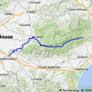 Véloroute Montferrand-Castres-Bédarieux-Béziers