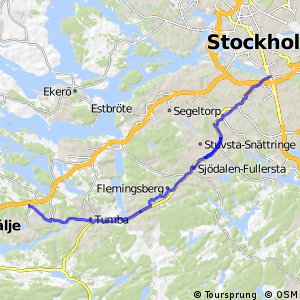 Regionalt cykelnät Stockholm (Salemstråket)