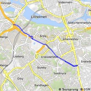 Regionalt cykelnät Stockholm (Årstastråket)