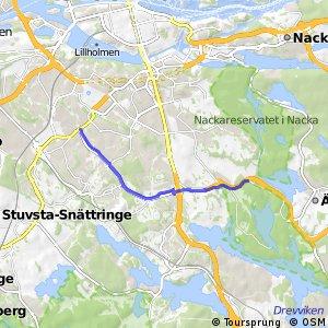 Regionalt cykelnät Stockholm (Örbystråket)