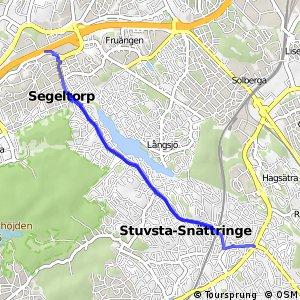 Regionalt cykelnät Stockholm (Häradsvägen)
