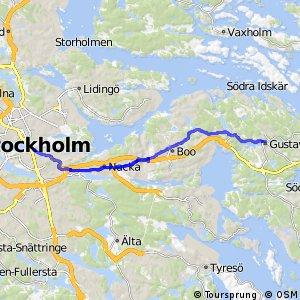 Regionalt cykelnät Stockholm (Värmdöstråket)