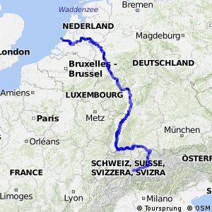 EuroVelo 15 - Rheinradweg