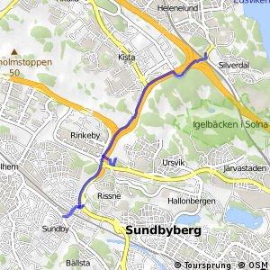 Regionalt cykelnät Stockholm (Kymlingestråket)