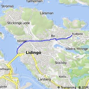 Regionalt cykelnät Stockholm (Norra Lidingöstråket)