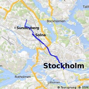 Regionalt cykelnät Stockholm (Solnastråket)