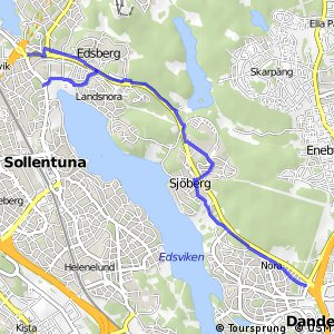 Regionalt cykelnät Stockholm (Edsvikenstråket)