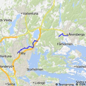 Regionalt cykelnät Stockholm (Åkersbergastråket)