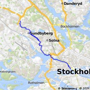 Regionalt cykelnät Stockholm (Sundbybergsstråket)