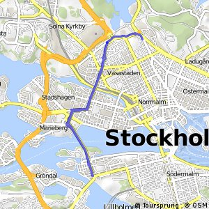 Regionalt cykelnät Stockholm (Norra tvärstråket)