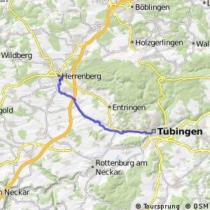 Tübingen-Herrenberg (Marienstraße/Altstadt)