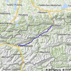 Innradweg - Tiroler Unterland