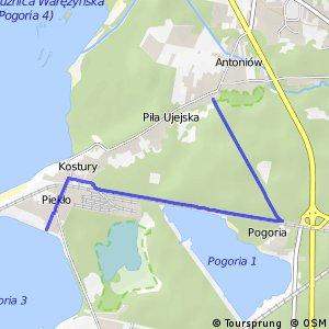 Czarny Szlak Rowerowy - Pogiria 3 - Antoniów